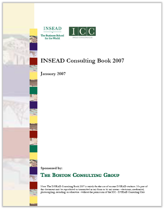 Case Interview Casebook INSEAD 2007