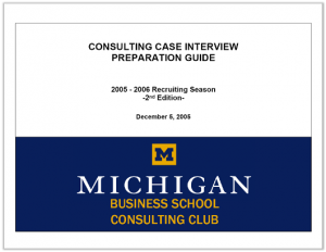 Case Interview Casebook Ross 2006