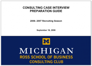 Case Interview Casebook Ross 2007