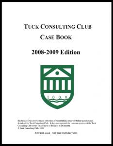 Case Interview Casebook Tuck 2009
