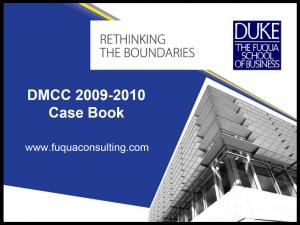Case Interview Casebook Fuqua 2010