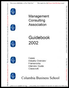 Case Interview Casebook Columbia 2002