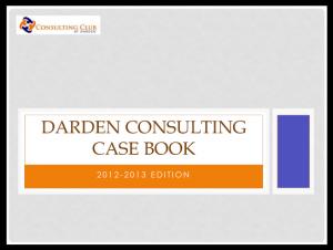 Case Interview Casebook Darden 2013