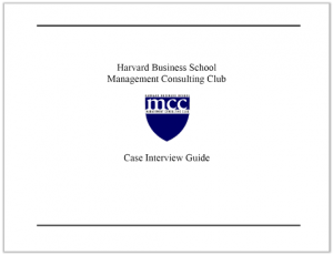 Case Interview Casebook Harvard 2004