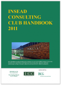 Case Interview Casebook INSEAD 2011