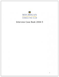 Case Interview Casebook Ross 2005