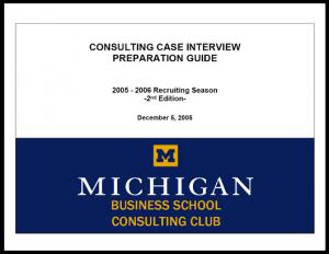 Case Interview Casebook Ross 2006