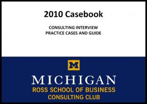 Case Interview Casebook Ross 2010