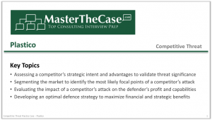 Case Interview Competitive Threat Practice Case Tutorial