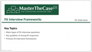 Consulting Fit Interview Frameworks Tutorial